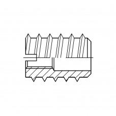DIN 7965 Муфта 10* 25 мебельная, латунь