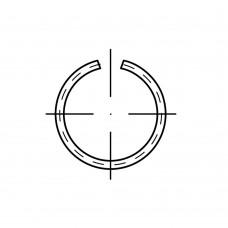 DIN 7993 Кольцо 18 стопорное, сталь