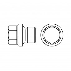 DIN 910 Пробка UNC 1 сталь нержавеющая 1.4571