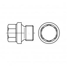 DIN 910 Пробка UNC 1/4 латунь