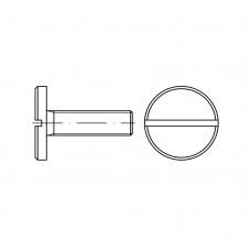 DIN 921 Винт 5* 16 с большой плоской головкой, сталь нержавеющая А1