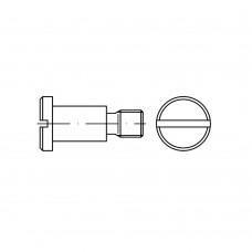DIN 923 Винт 8* 10 ступенчатый установочный, сталь нержавеющая А1