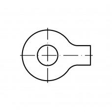 DIN 93 Шайба 17 стопорная с лапкой, сталь нержавеющая А4