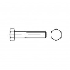 DIN 931 Болт М6* 80 с неполной резьбой, сталь нержавеющая А2