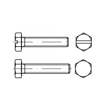 DIN 933 Болт М12* 30 с полной резьбой, сталь 10.9, цинк