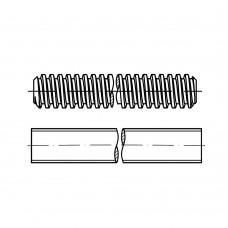 DIN 975 Шпилька 16* 1000 резьбовая, левая резьба, сталь, цинк