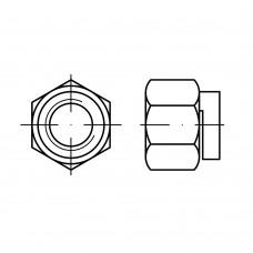 DIN 980 Гайка 3 шестигранная, самоконтрящаяся, сталь нержавеющая А4