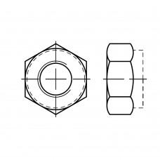 DIN 985 Гайка М16 самоконтрящаяся, сталь нержавеющая А2