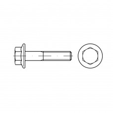 EN 1665 Болт 5* 20 шестигранная головка, сталь нержавеющая А2