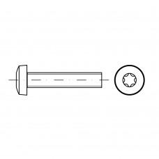 ISO 14583 Винт 2,5* 16 цилиндр TORX, сталь нержавеющая А2