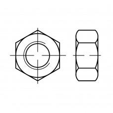ISO 4032 Гайка 4 шестигранная, латунь, никель