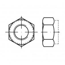 ISO 7042 Гайка 4 самоконрящаяся, сталь нержавеющая А2