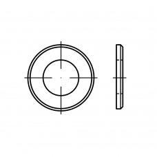 ISO 7090 Шайба 27 плоская с фаской, латунь