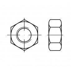 ISO 8673 Гайка 30* 2 шестигранная с мелкой резьбой, сталь нержавеющая А2