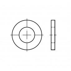 ISO 8738 Шайба 40 под палец плоская, сталь нержавеющая А4