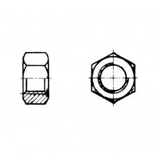 Гайка М10-6Н.34.Бр. АМц9-2 ГОСТ 5915-70