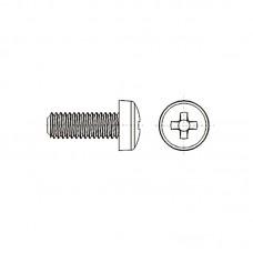 8G206 Винт М4* 8 цилиндр, крестовой шлиц, нейлон