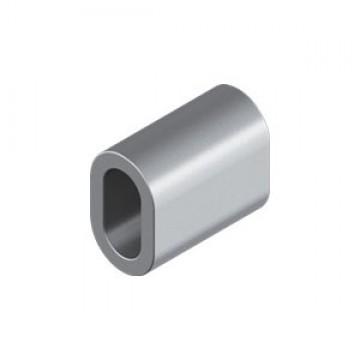 Зажим троса медь покрытие никель WASI М8026 Ferrule