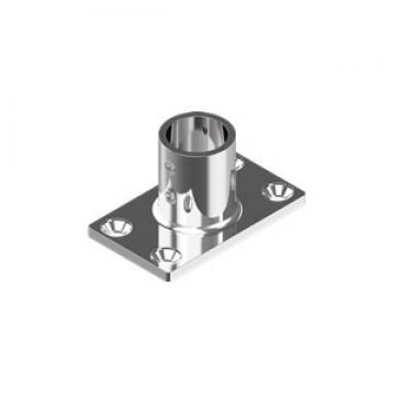 Стакан WASI М8203 Stanchion Base Rect.90°