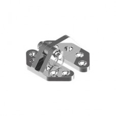 Петля WASI М8238 Hinge, Casted polished