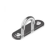 Обушок литой на пластине WASI М8266 Pad Eye