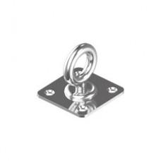 Кольцо-вертлюг на квадратной пластине WASI М8396 Pad eye